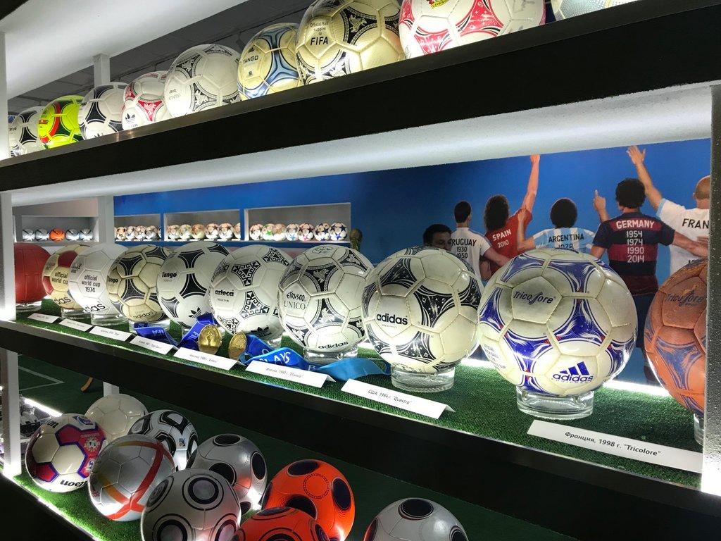 "Музей футбольного мяча ""Эволюция"""