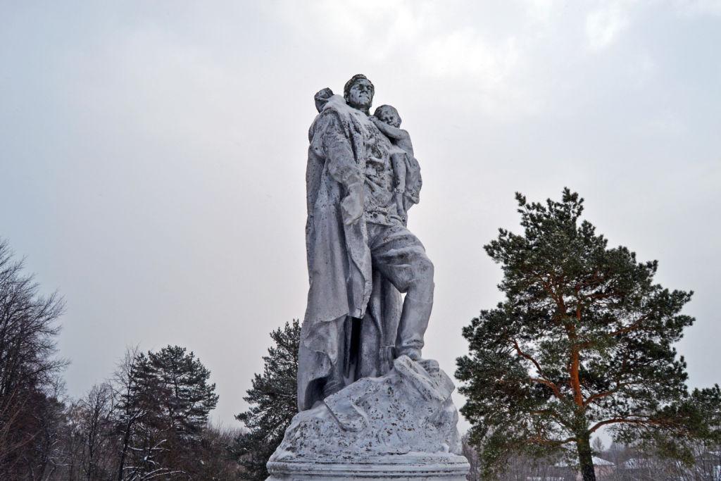 Памятники погибшим во время Великой Отечественной войны