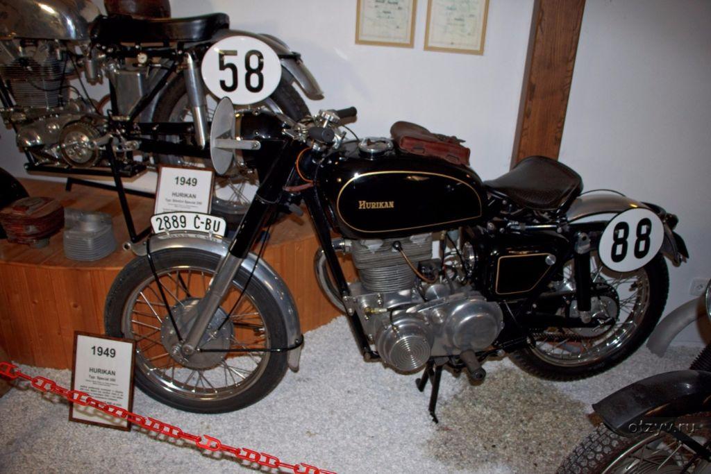 В настоящее время здесь представлено более 20 мотоциклов различных чешских и иностранных брендов, в том числе Ява, CZ, BMW и Harley Davidson