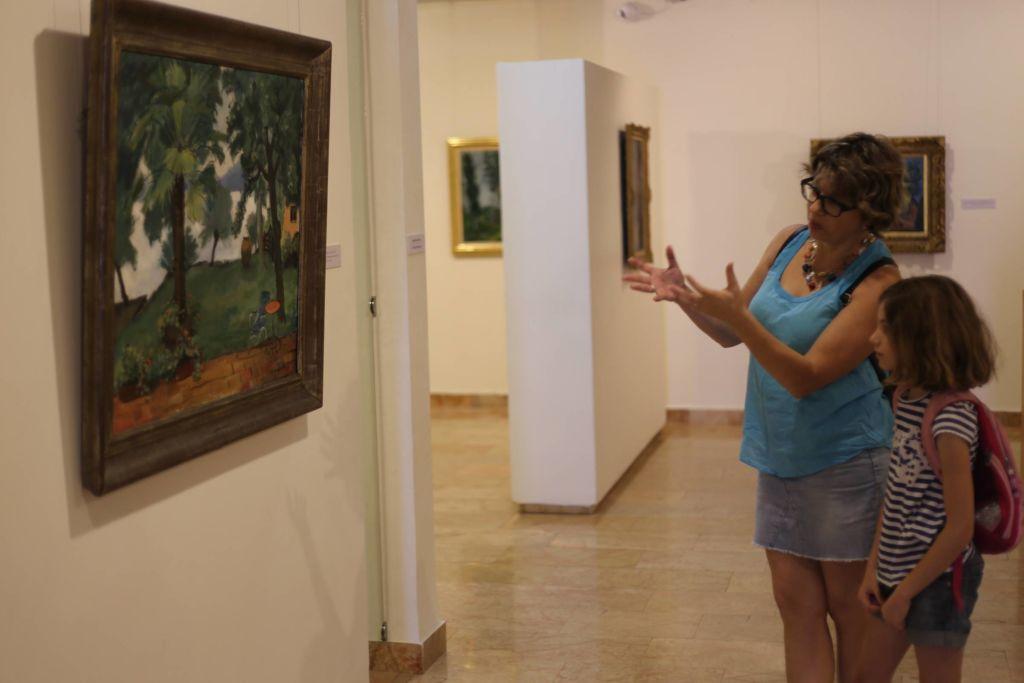 В музее представлена интересная коллекция еврейских художников