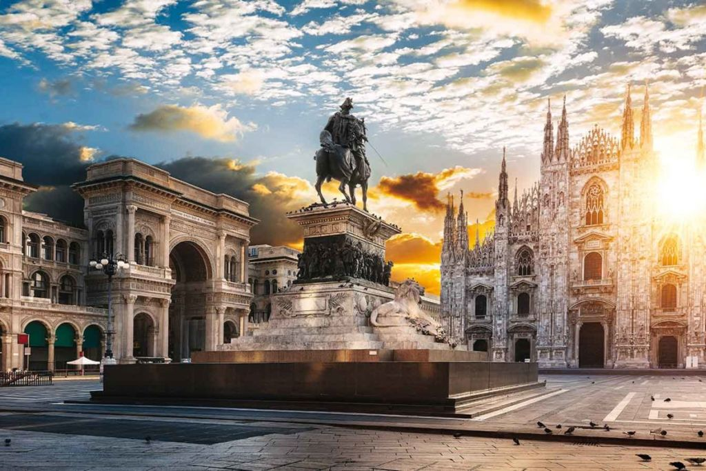 Город милан италия фото