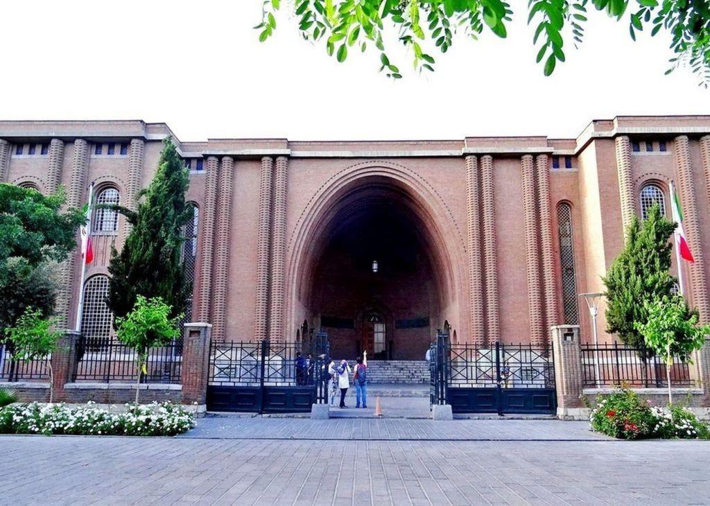 В музее представлены предметы из всей иранской истории