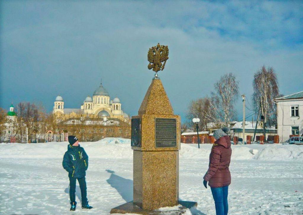 Прямо у ворот кремля расположена центральная городская площадь