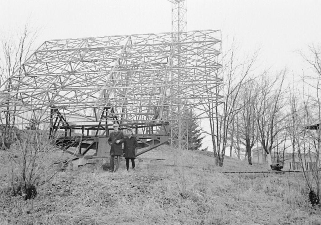 Первое фото после постройки обсерватории