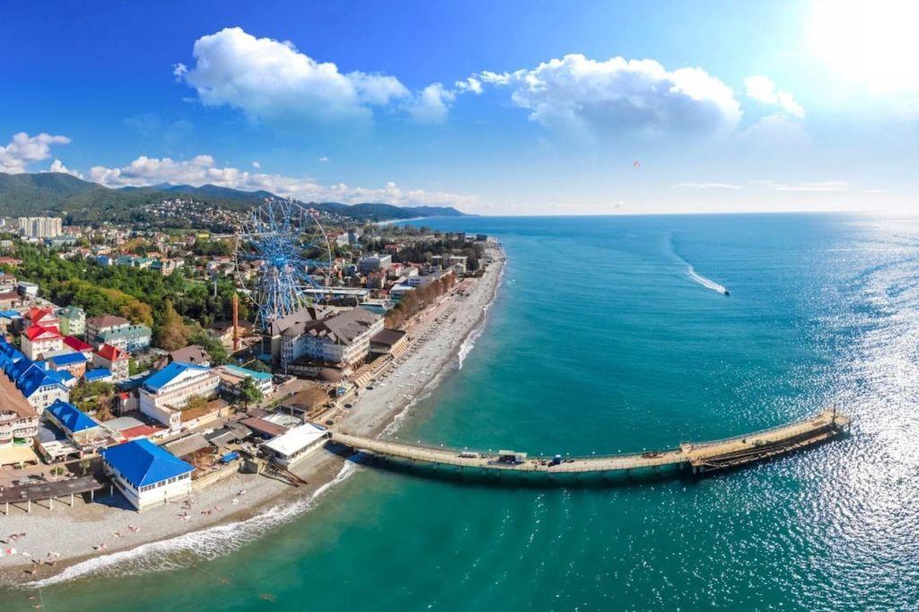 Черноморские курорты фото города поселки