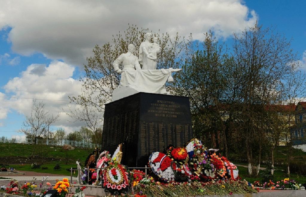 Мемориальный комплекс «Вечный огонь» в Сортавале