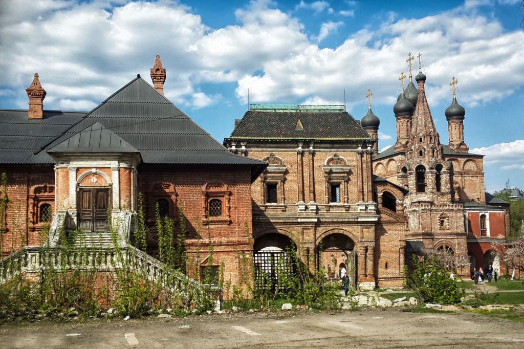 Все постройки сейчас выглядят таким же образом, как и 350 лет назад