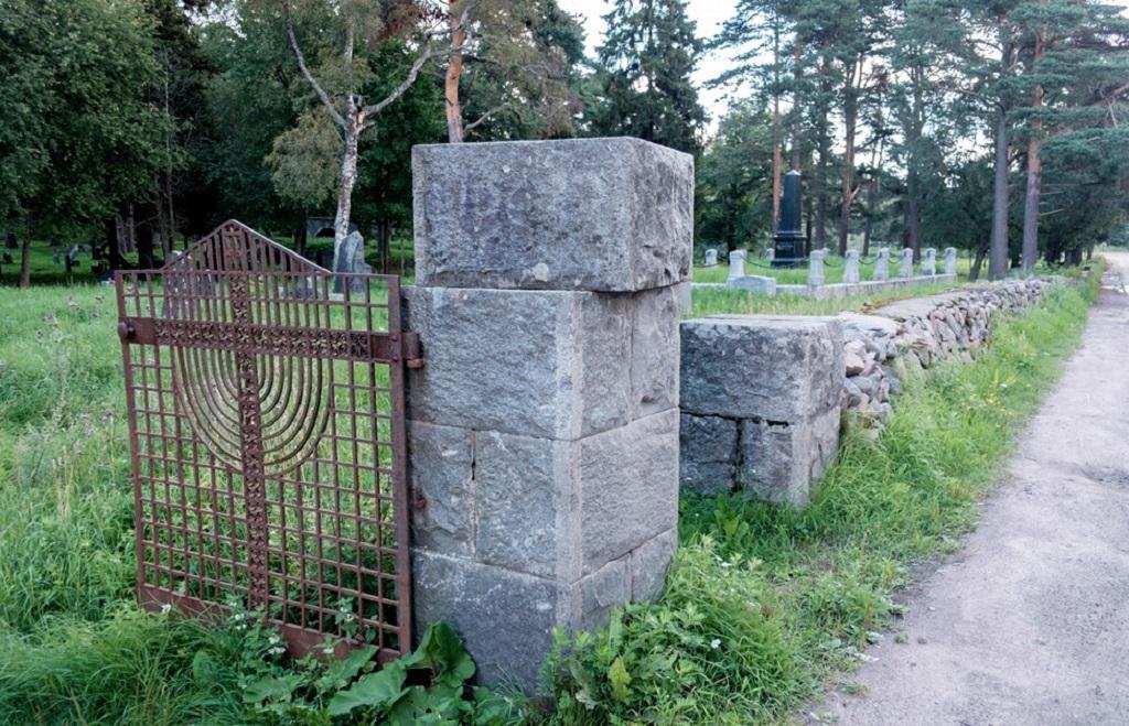 Старое финское кладбище