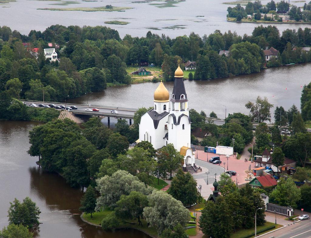 В Сестрорецке отлично сочетаются архитектурные достопримечательности и природные