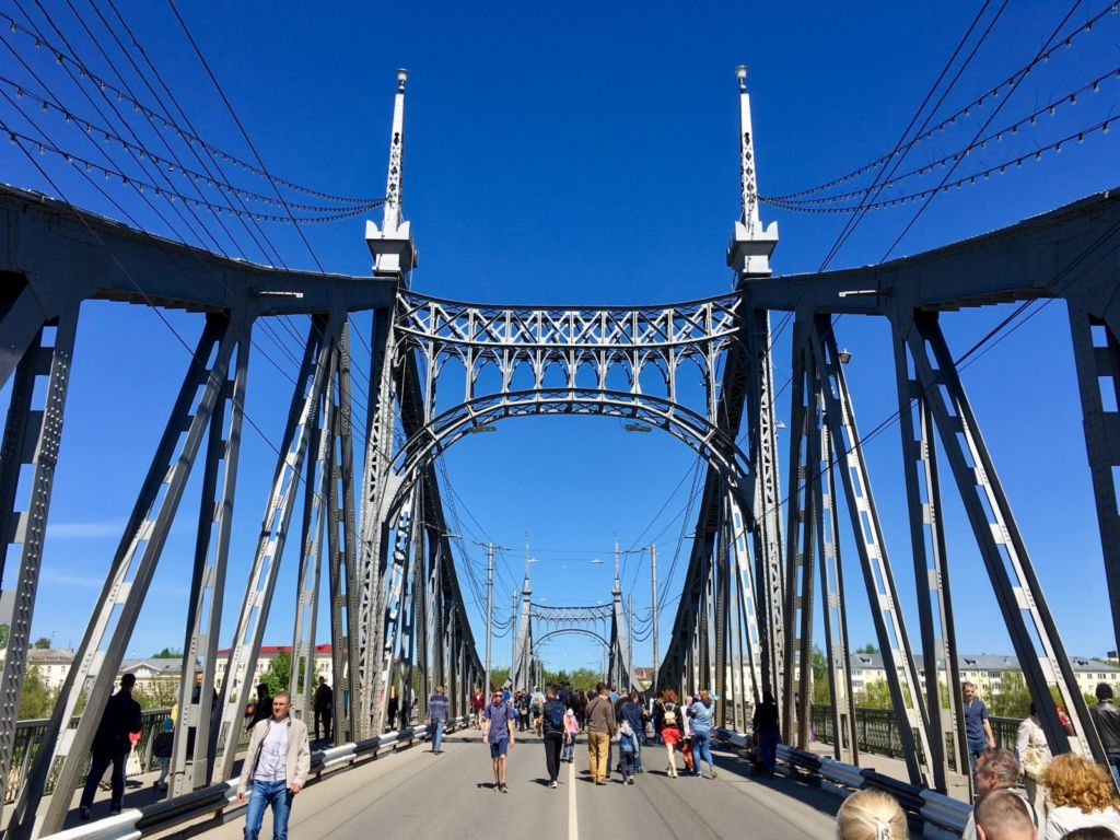 Фото на мосту