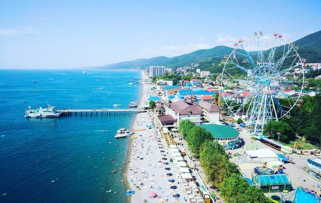 Отдых в лазаревское фото города и пляжей