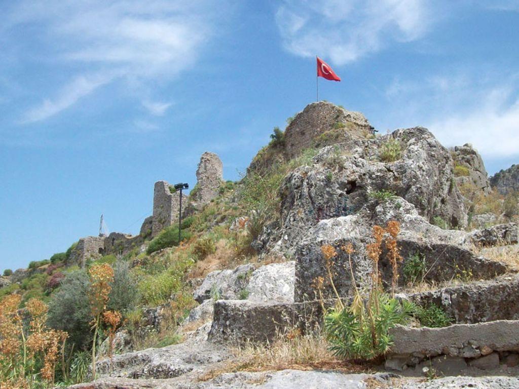 В настоящее время от замка остались только руины