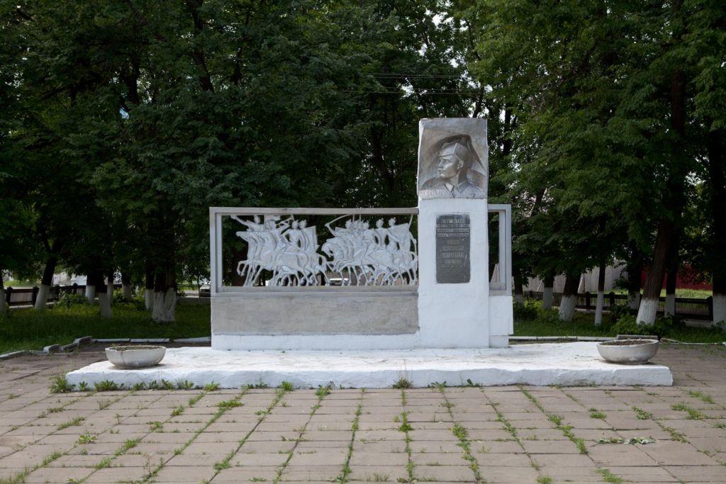 Памятник комбригу С.М. Патоличеву