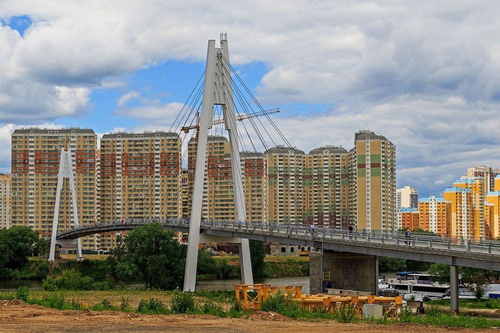 Мост Павшинская пойма