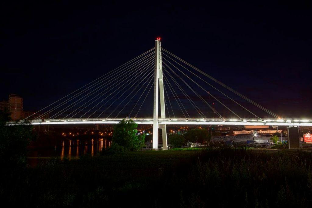 Вантовый мост, возведённый в 2014 году