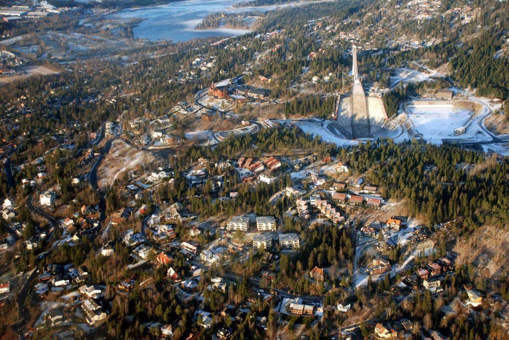 С вершины открываются живописные виды на Осло