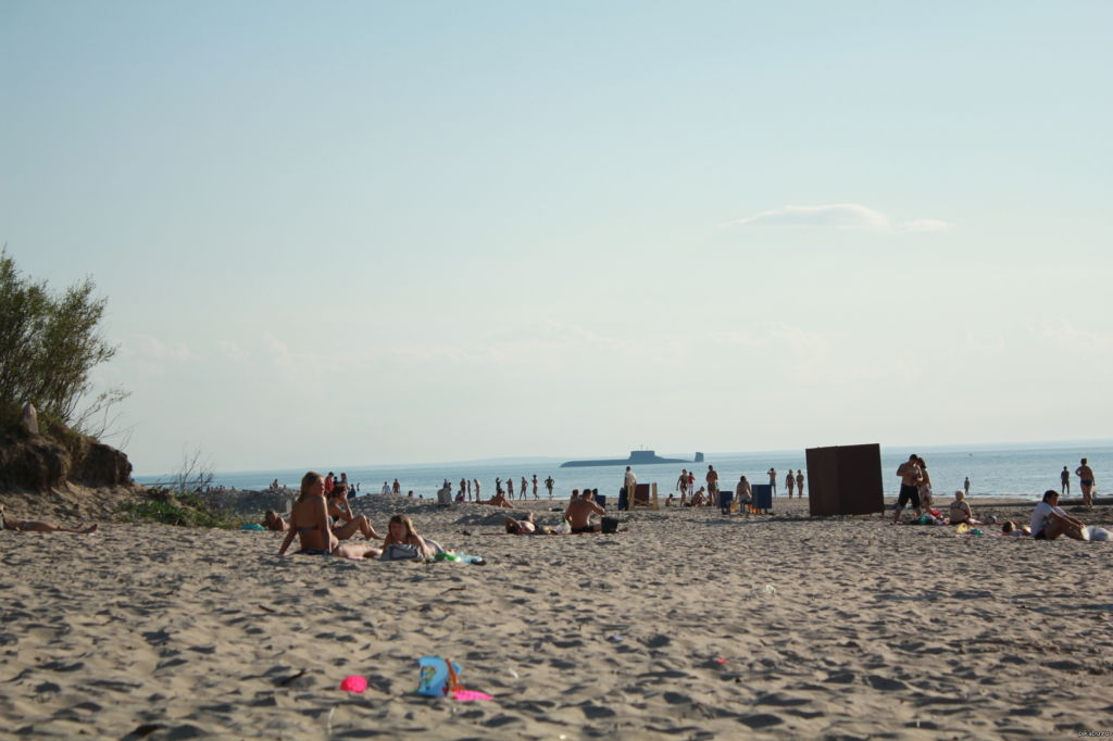 Летом в Северодвинске можно посетить даже пляж