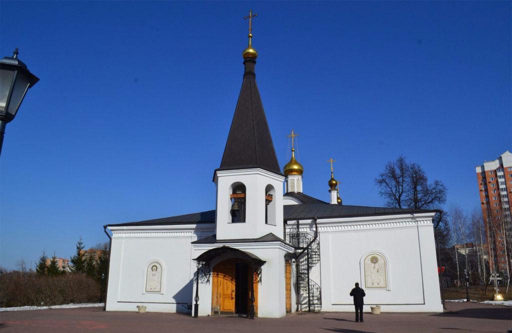 Церковь Воскресения Словущего Подольск