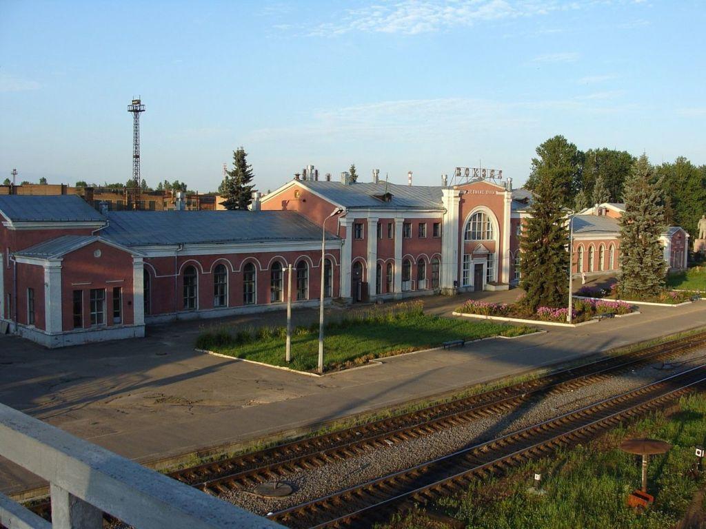 Железнодорожный вокзал был открыт в 1901 году