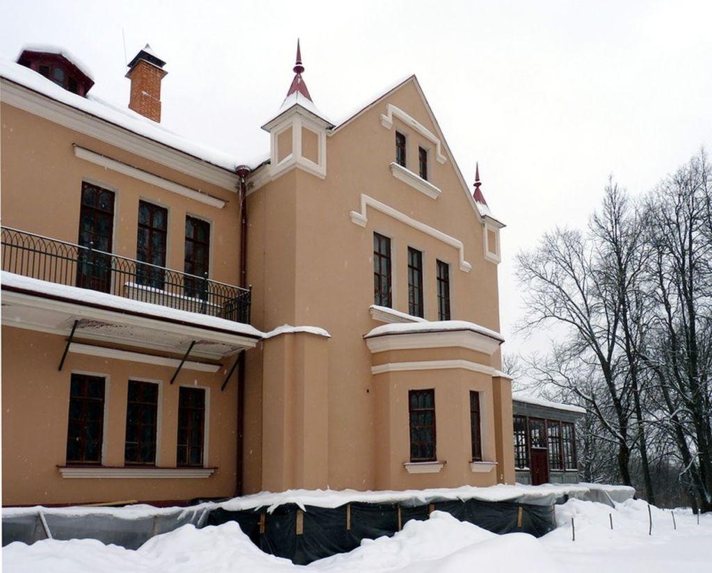 Дом-музей находится в деревне Полибино