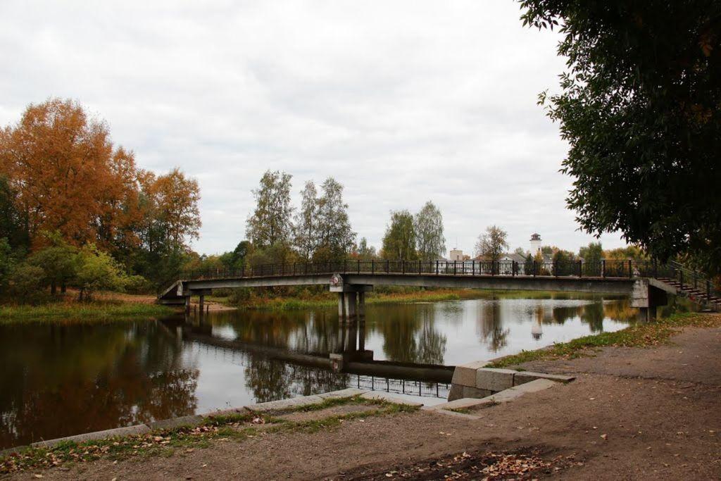 На территории парка есть источник родниковой воды