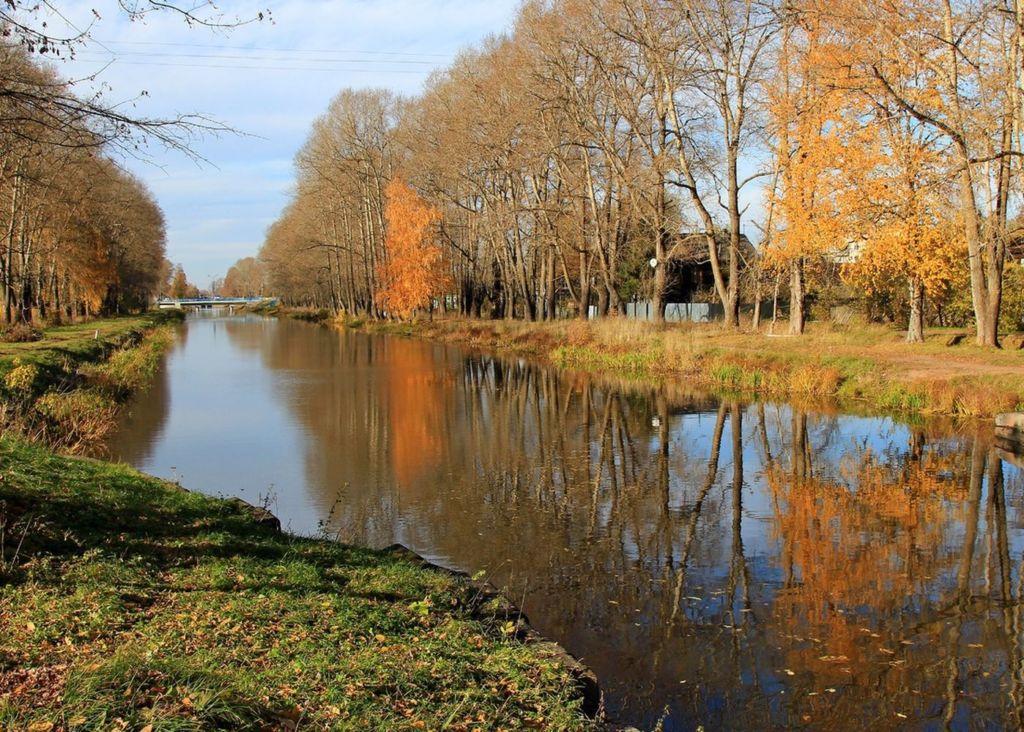 Сегодня многочисленные каналы, мостики и речки утопают в зелени