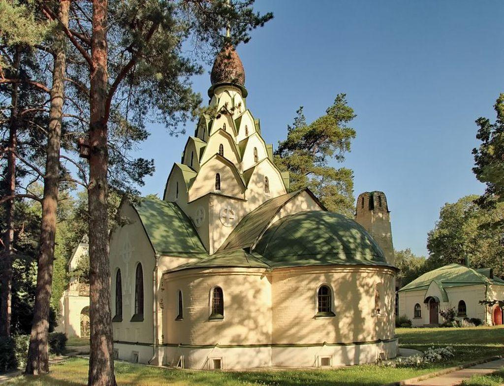 Основали монастырь в 1920 году, под начальством Марджанишвили