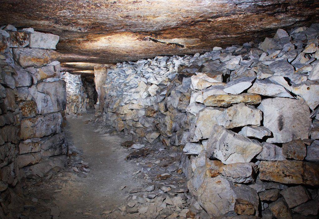 Добывать известняк начали еще в XIII веке