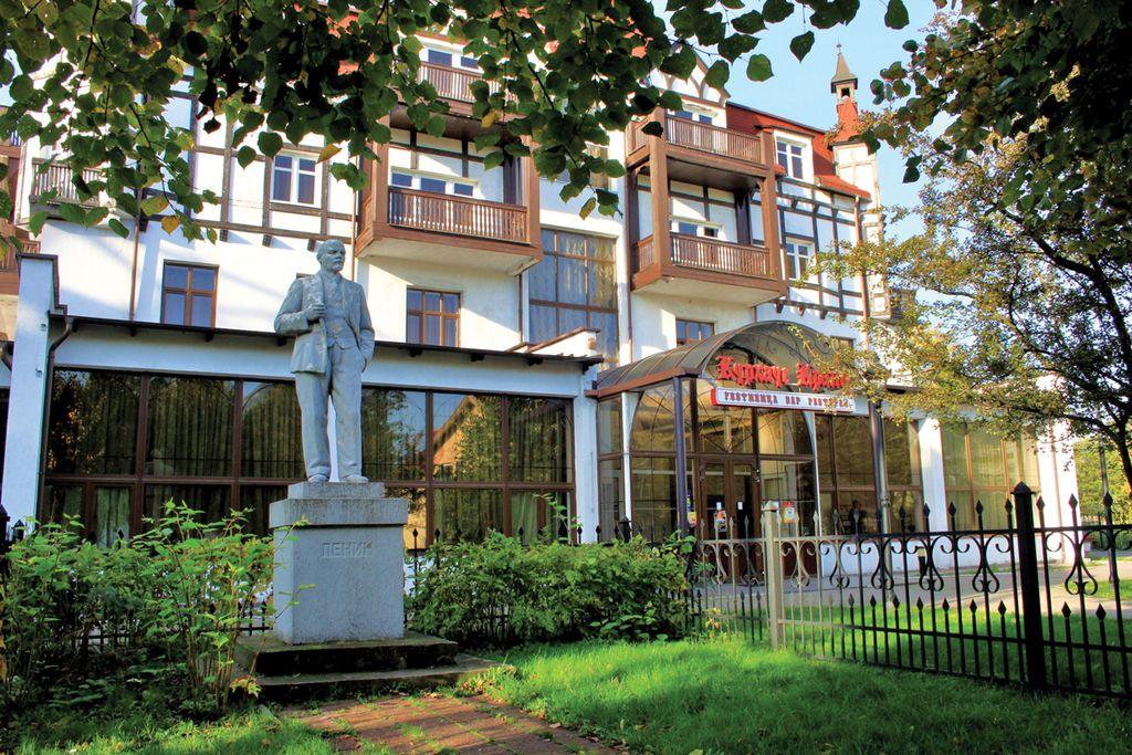 Построен в конце 19 века и считался самой известной гостиницей
